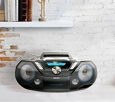 CD playere, boombox Philips