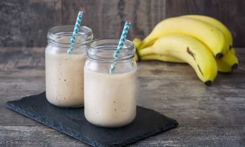 Smoothie banana ghimbir