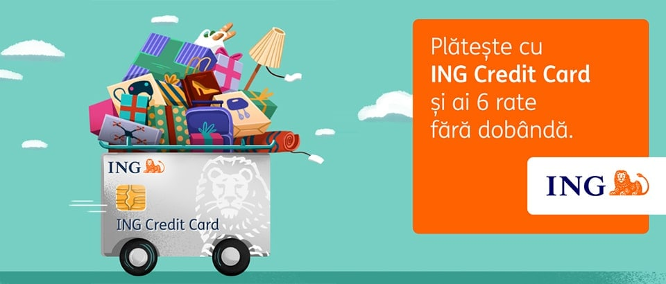 Plata in rate cu ING card in magazinul online Philips